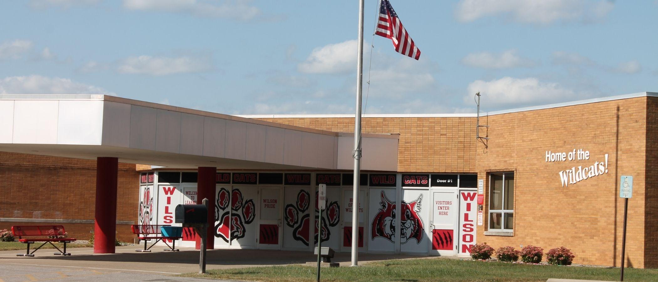 Front of Wilson Elementary School
